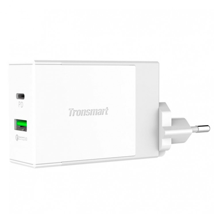 Tronsmart W2DT Type-C Power Delivery 48Вт Адаптер питания
