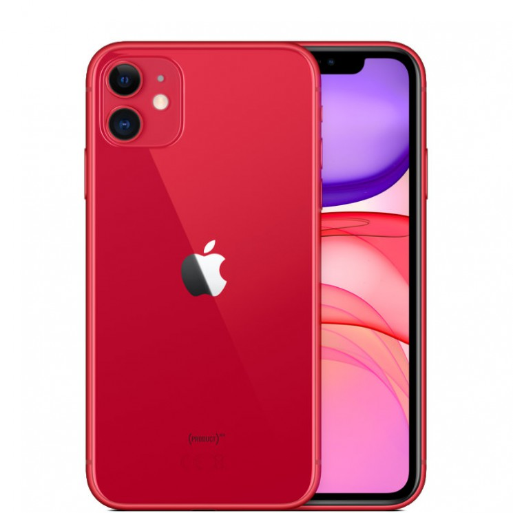 Apple iPhone 11 128 Гб Красный (PRODUCT Red)