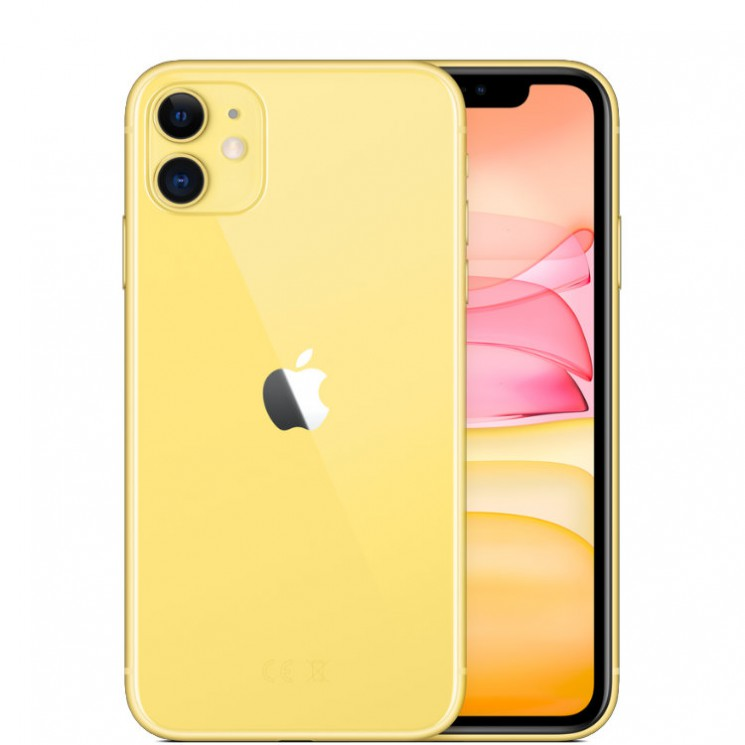 Apple iPhone 11 256 Гб Желтый (Yellow) MWMA2RU/A Смартфон