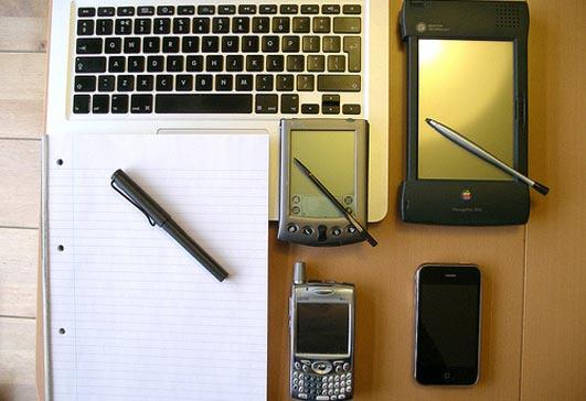 Six writing things