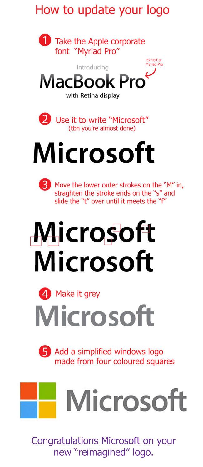 Как сделали новый логотип Microsoft? - Apple ...: i-ekb.ru/2012/08/kak-sdelali-novyj-logotip-microsoft