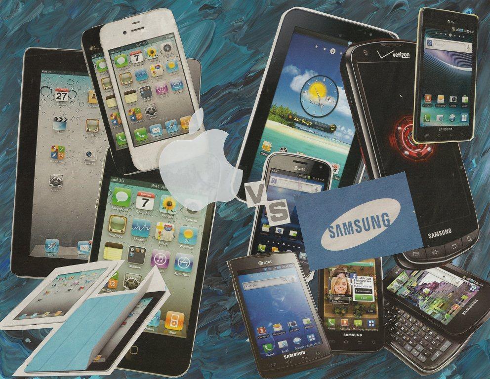 Apple v Samsung collage1