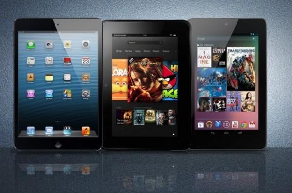iPad mini vs Kindle Fire HD vs Nexus 71