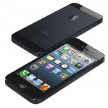 iPhone 5 two up front back flat