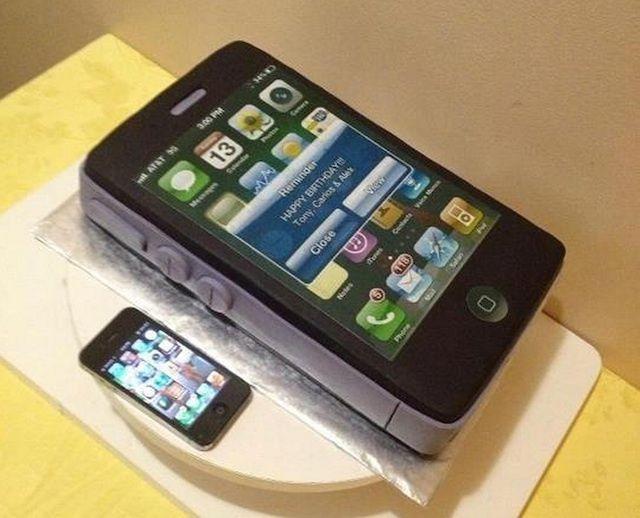 Торт айфон 5 фото