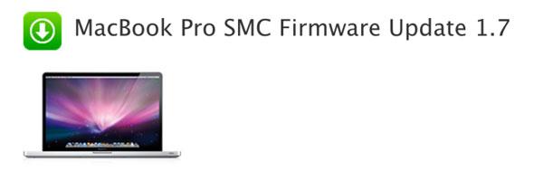 macbook pro smc firmware update 1 7