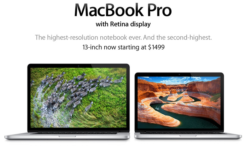 macbook pro retina 13 1499