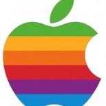 rainbow apple logo 250x279