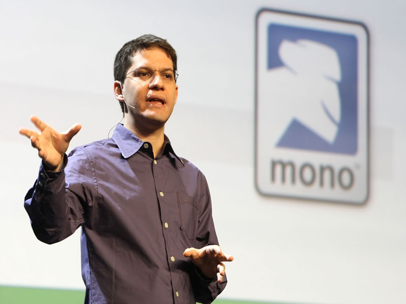 Miguel de Icaza pro ASP NET MVC Moonlight i sud nad Android