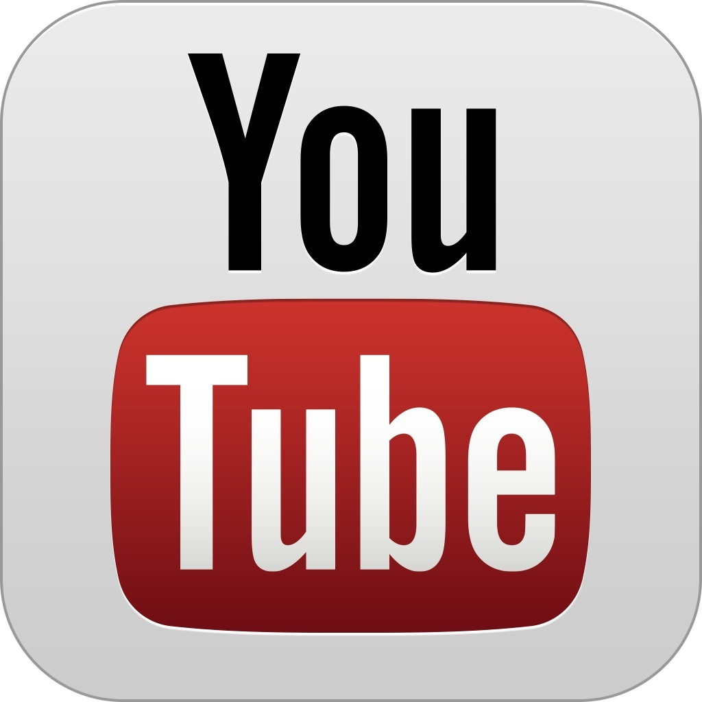 YouTube for iOS app icon full size