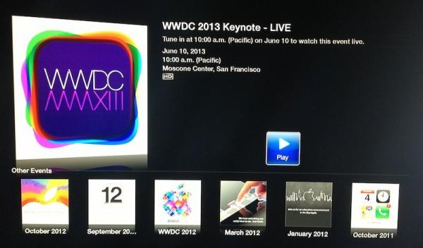 wwdc 2013 apple tv 2