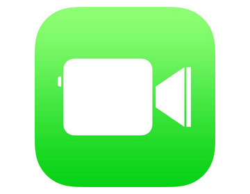 apple facetime ios 7 logo