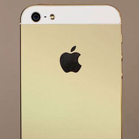 gold iphone 5s other mockup