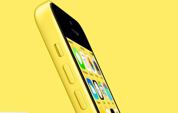 yellow iPhone 5c yellow background