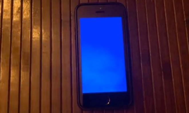 айфон не перезагружается синий заработал сам реакций пару