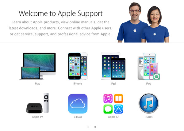 new apple support