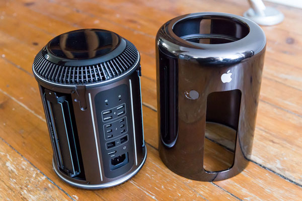 mac pro and case