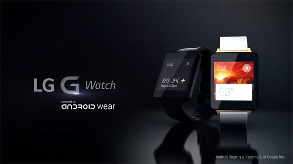 LG G Watch product video