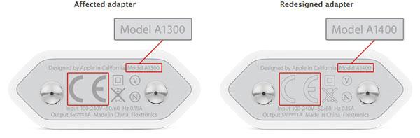 apple 5w european adapter