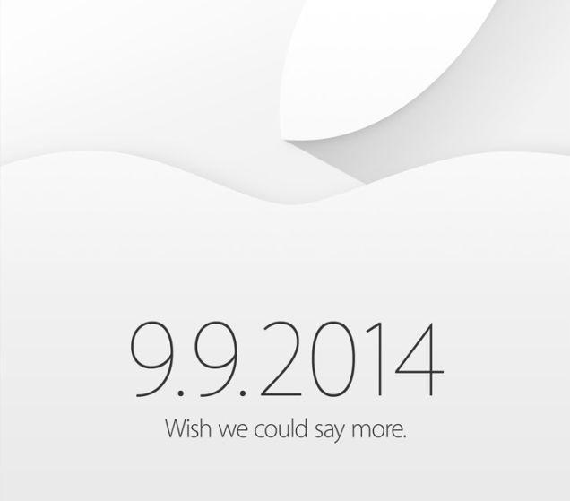 Apple invite September 9 event 20140909