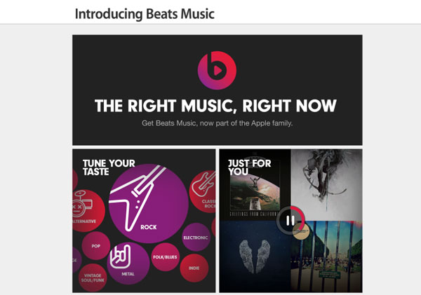 beats music promote