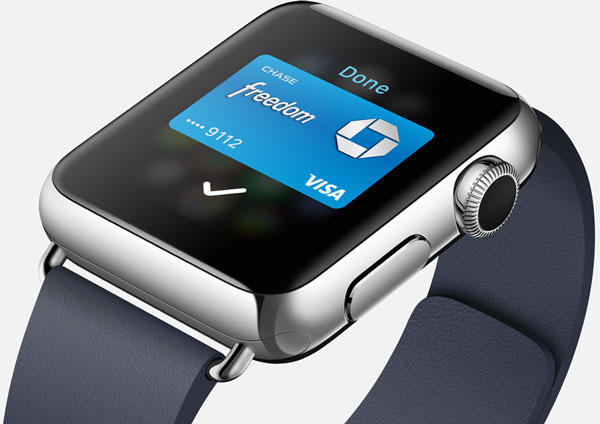 Apple Watch passbook apple pay
