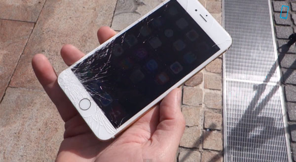 iphone 6 crashed screen