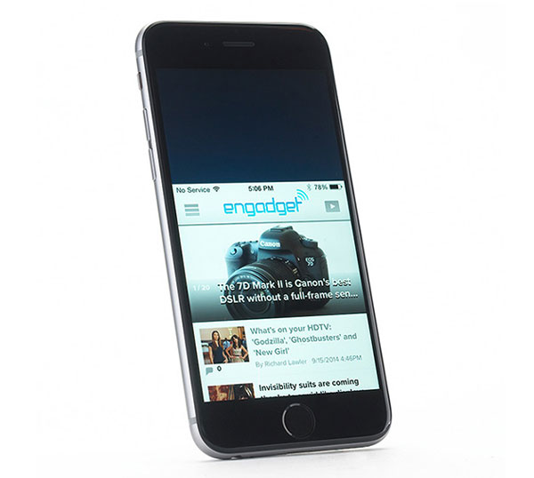 iphone6 downscreen