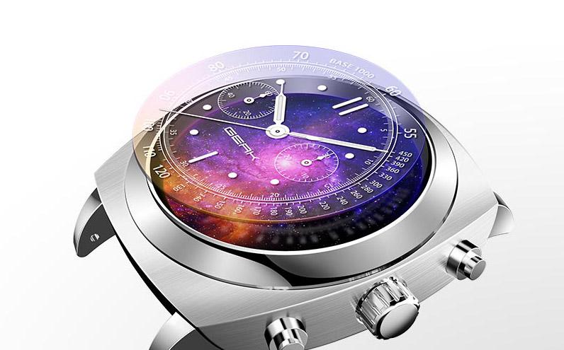 По сравнению с продуктами android wear, доступными в настоящее время, geak watch ii имеет отличную автономию, базовая модель достигает i 15 дней в то время как версия pro даже 18!.