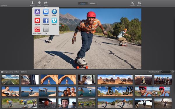 image iMovie for OS X Yosemite