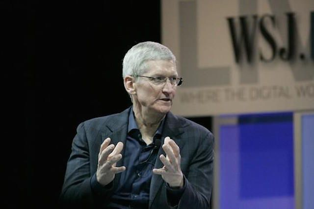tim cook wsj conference