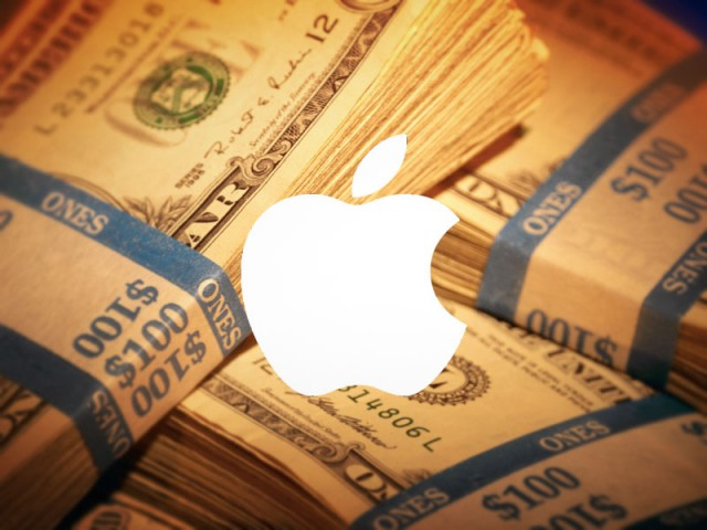 apple money white logo