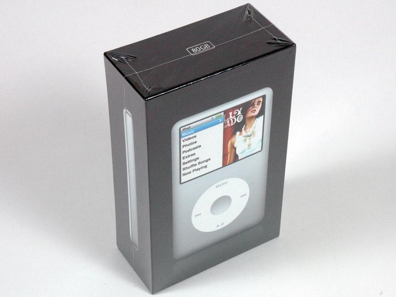ipod classic sealed
