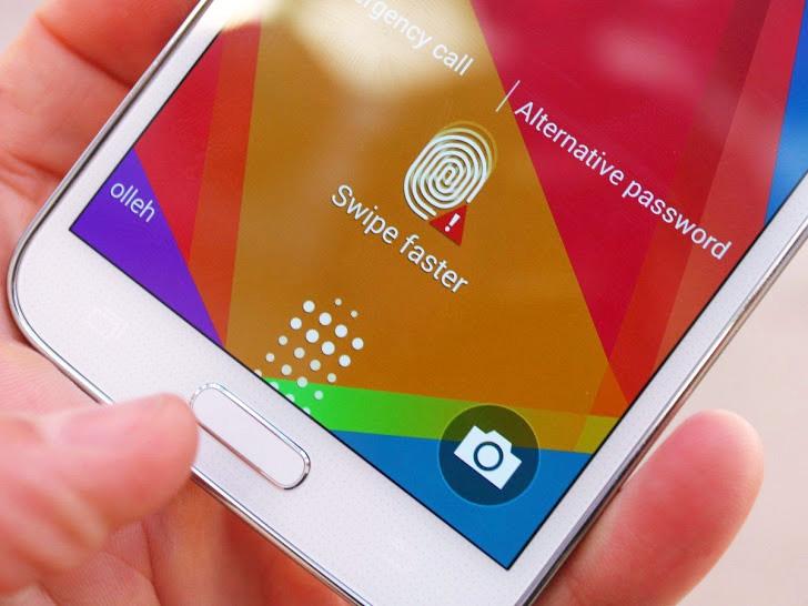 Samsung Galaxy S5 Fingerprint 1