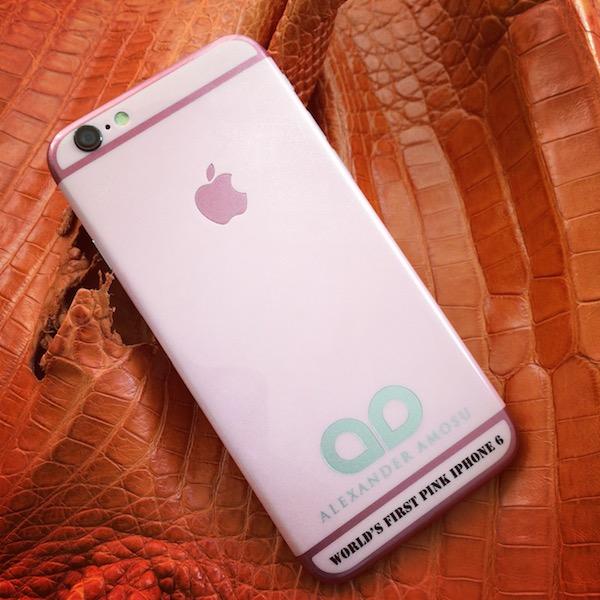 amosu pink iphone