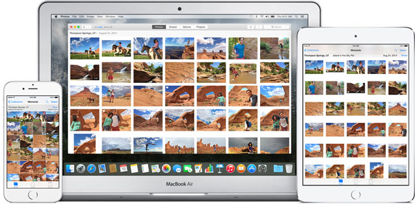 icloud photo library large