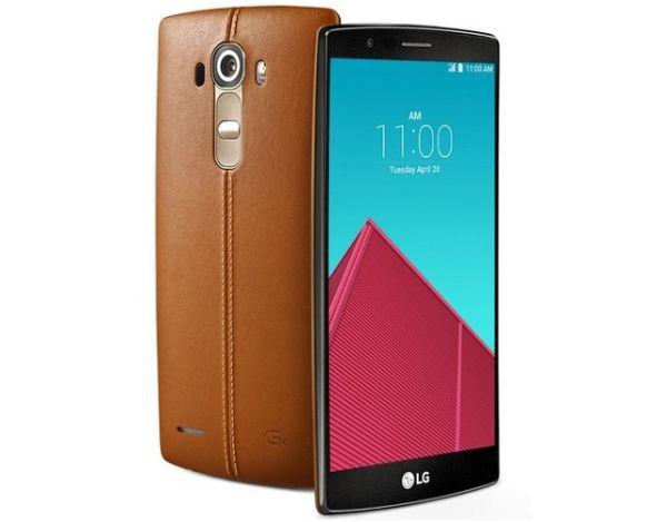 LG G4 acabado en piel