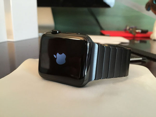 Apple Watch space black 2