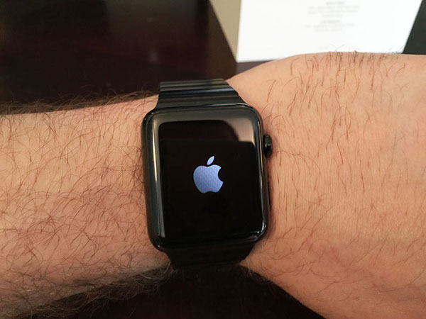 Apple Watch space black 9