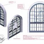 Bill Graham Civic Auditorium Windows