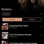 Burberry Apple Music