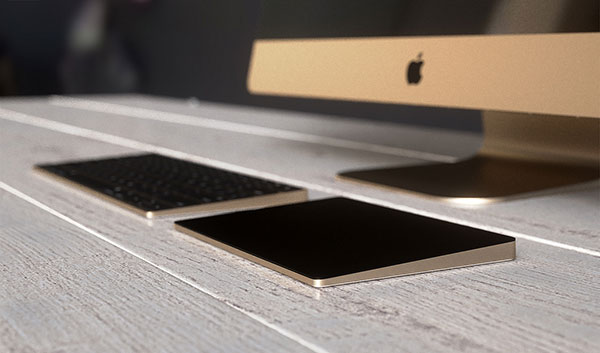 iMac MagicKeyboard MagicTrackpad 1