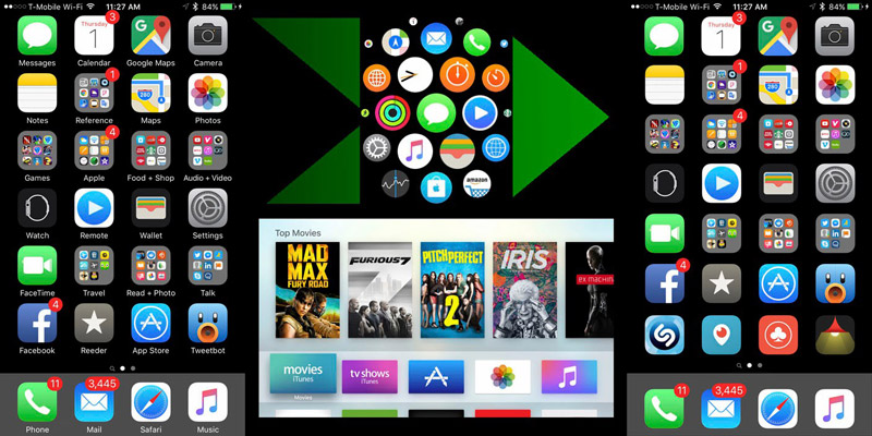 iOS interface 1