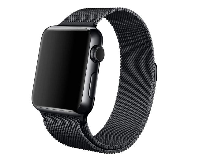 space black apple watch 2