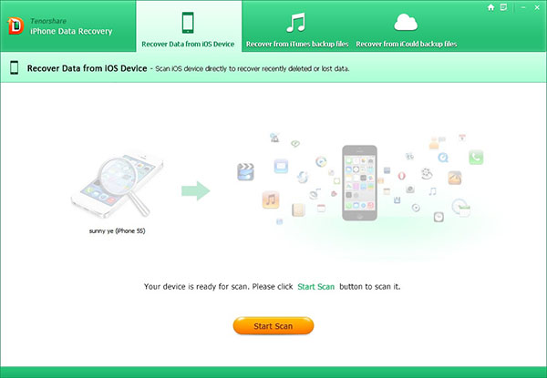 recover iphone 6s data