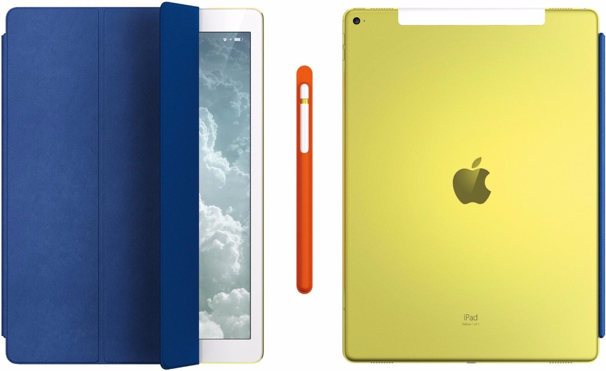 custom yellow ipad pro1