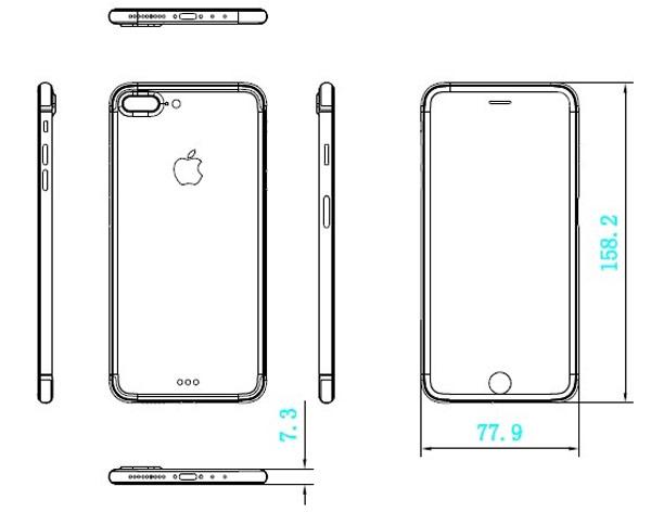 Как нарисовать айфон 7 плюс