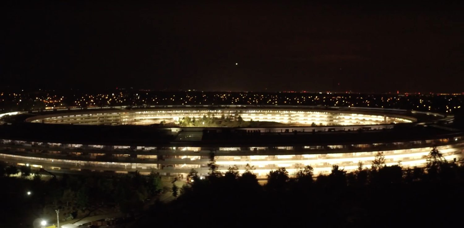 apple park night