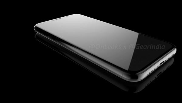iPhone 8 OLED Render