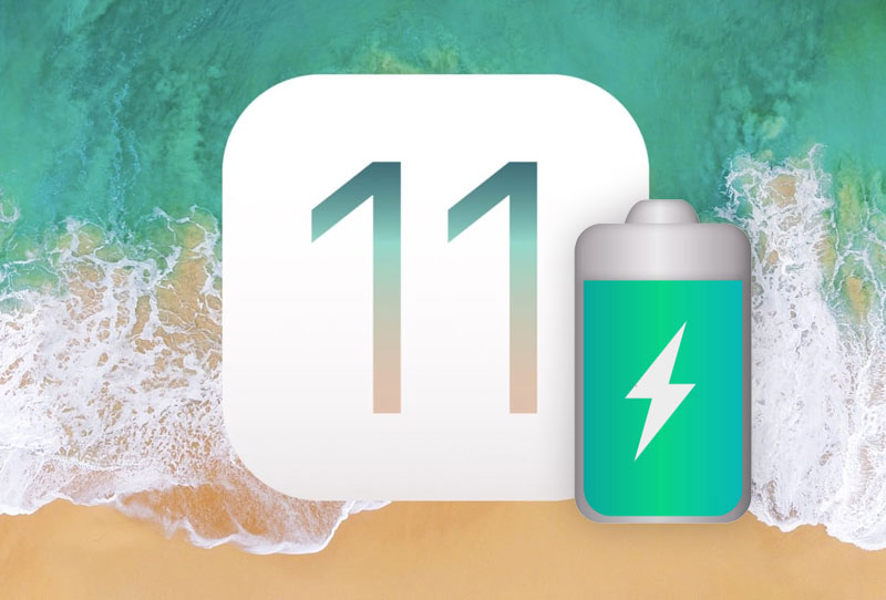 iOS 11 test battery 1